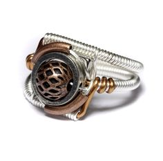 Wire wrapped Steampunk.