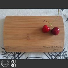 Personalized Cutting Board  Engraved cutting board by KubuHandmade