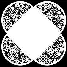 Flower Petal Envelope - Free Cut File |