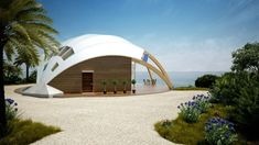 INGENIOUS PASSIVE SOLAR HOUSE BY DESIGNER DAVID FANCHON