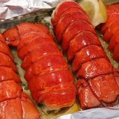 Lemon Butter Lobster Tails: http://www.amazon.com/Hancock-Gourmet-Lobster-Company-Butter/dp/B000I5ZD22/?tag=koraimultimed-20