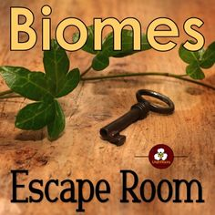 Biomes Escape Room Find the clues in four engaging tasks to decode an encrypted message and escape! High School Biology, Biology Teacher, Teaching Biology, Middle School Science, Ap Biology, Middle School Stem, Teaching Tools, 7th Grade Science, Elementary Science