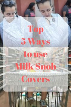 Milk Snob covers are very multi-functional. Great covers that you can use over and over in very different ways! Read my top 5 ways to use yours!