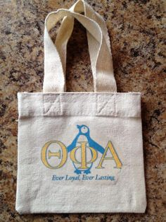 Theta Phi Alpha Sorority Shower Tote! $10.00 included Shower Gel, Shampoo and hair Conditioner. Soon to be available at www.jbgreek.com