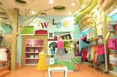 Twilo Childrens Boutique by Frenjick Quesada (Design Hirayama + Quesada) at Coroflot.com