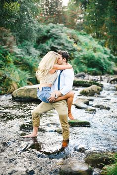 One of the most romantic engagement photos