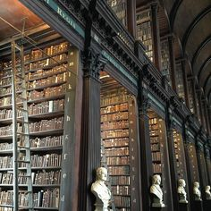 Long Room Trinity College Dublin Ireland