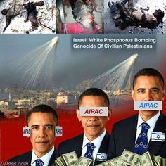 Obama kisses AIPAC ass. AIPAC is the Israeli Foreign Lobby who is in control of America.
