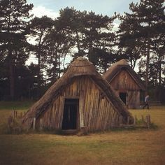 Anglo saxon hut at west stow