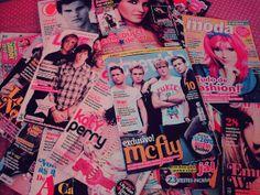 #mcfly #marimoon #dulcemaria #revista #capricho #todateen #rascunhosdasuuka #magazine #brazil #collection