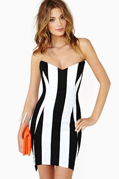Perfect Parallels Dress in What's New at Nasty Gal