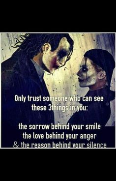 Only trust someone who can see these 3 things in you...