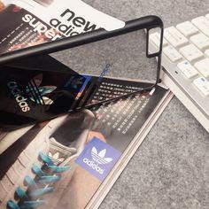 iPhone SE ケース アディダスAdidas iPhone6s/7ケースペアケース 親友お揃い 可愛い 鏡ミラー付き iPhone6s…