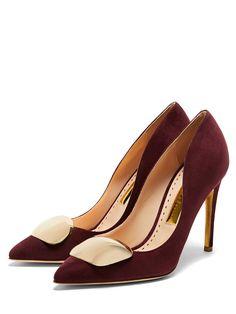 70df47d93a5c RUPERT SANDERSON Pinka Pebble   Prune Suede.  rupertsanderson  shoes