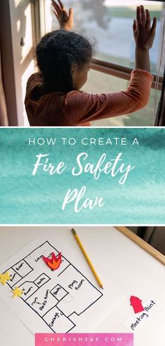 3 tip for getting your family ready in case of a fire emergency. Have a simple poster plan for preschool, kindergarten, first grade and for kids and adults of all ages. Home fire drill tips for Family Safety, Home Safety, Child Safety, Baby Safety, Parenting Plan, Parenting Hacks, Fire Safety Tips, Fire Drill, Thing 1