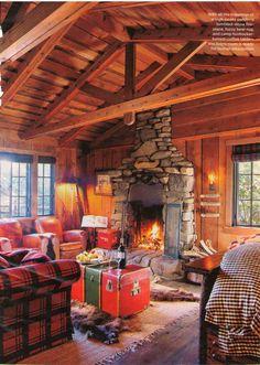 Cozy looking cabin.