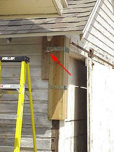 How To Straighten A Small Leaning Building Winch Used To