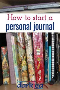 If you want to start a personal journal, but don't know where to begin it is worth remembering there is more than one way of journalling. The only correct way is the way that works for you so here are some tips to get you thinking about your way of journal writing and hopefully motivate you to get started.