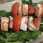 Easy Caprese Salad for dinner = summer yum!