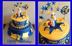 West coast eagles cake 19th Birthday Cakes, 14th Birthday, Birthday Parties, Birthday Ideas, West Coast Eagles, Celebration Cakes, Cupcake Cakes, Cupcakes, Cakes And More