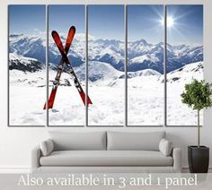 Skis in Snow №183