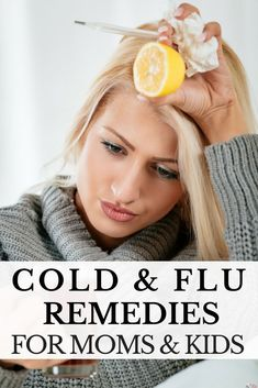 Nothing scares a mom like the flu! If you are looking for cold and flu remedies for kids and adults I've got a list of tips I put together when my family got the stomach flu last year! From natural remedies for sore throats, congestion, headaches, and nau Natural Headache Remedies, Natural Health Remedies, Natural Cures, Natural Healing, Cough Remedies, Holistic Remedies, Herbal Remedies, Flu Prevention, Coconut Benefits