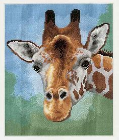 Giraffe Cross Stitch Kit by Vervaco