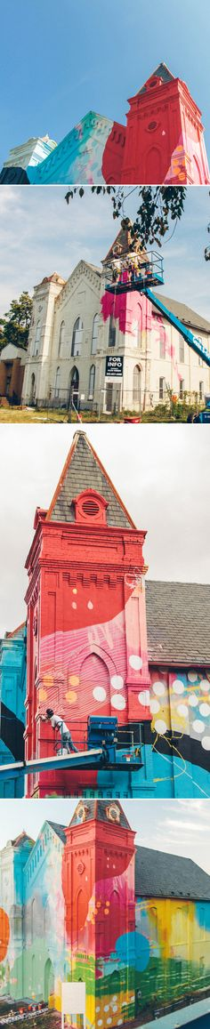 HENSE. A private commission, in South West Washington DC, that transformed this old church into a piece of contemporary art.