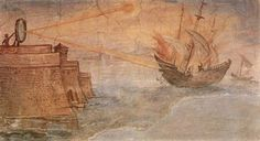 Archimedes set Roman ships on fire with cannons, not mirrors | A Blog About History - History News