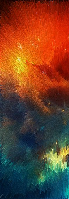 """Points of Light Abstract by Sharon Cummings."" It's like a universe is being born! Stunning! www.decorrevamp.com"