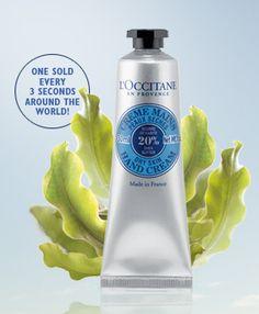 L'Occitane hand cream free sample