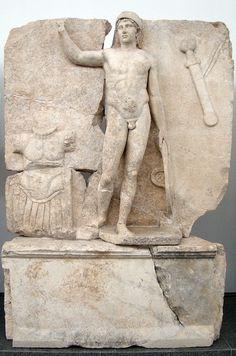 Sebasteion, Ares.    Aphrodisias Museum.