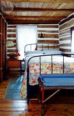 Un cottage en bois en Ontario