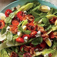 BLT Salad with Olive Vinaigrette