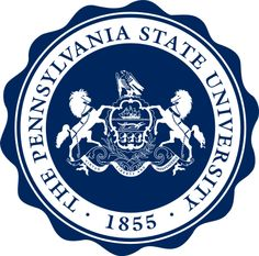 'PENN STATE pennsylvania psu logo ' Sticker by linnnna Pennsylvania State University, Georgetown University, University Logo, Butler University, Alma Mater, Penn State Logo, Tenured Professor, Badge, Printables
