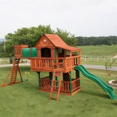 Club house and play set in one.