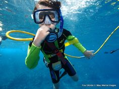 As long as you're eight or older, SNUBA is a wonderful add-on to any of our Maui snorkeling tours!