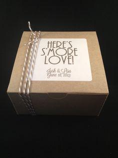 Smore Box & Label