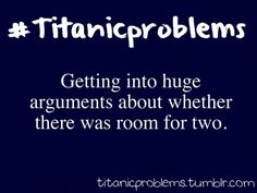 Titanic Problems