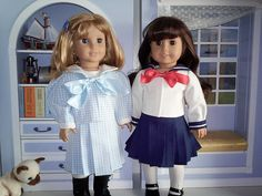 Jinjia Mixed Goods: American Girl Dolls with an Asian Flair: Free Doll Clothes Patterns