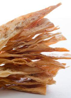 cumin flatbread chips