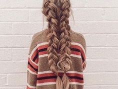 Our Best and Fresh Braids Hairstyles Selection This Year – My hair and beauty Messy Hairstyles, Pretty Hairstyles, Teenage Hairstyles, Bohemian Hairstyles, Blonde Hairstyles, Style Hairstyle, Hair Inspo, Hair Inspiration, Go Feminin