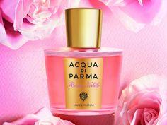 Acqua di Parma Rosa Nobile, la eau de parfum che privilegia la regina delle essenze: la rosa. L'eccellenza della casa italiana si manifesta, anche in questa occasione. Nelle note di testa si sprigionano aromi agrumati di mandarino e bergamotto, nel cuore la rosa, la violetta e la peonia, nel fondo il cedro della Virginia, l'ambra grigia e il musk chiudono la profumazione. Una composizione elegante, raffinata e sofisticata, come nello stile della maison. www.profumissimaonline.com