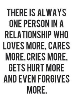 This can be true in any type of relationship.