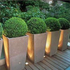 Great idea for deck lighting