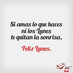 #FelizLunes comencemos la semana con buenas energías y los mejores deseos. #Lunes #HappyMonday