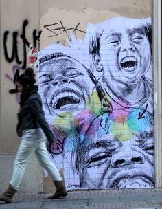 Artist: STMTS. Athens, Greece. #Greek #Greece #Athens #Street #Art #StreetArt