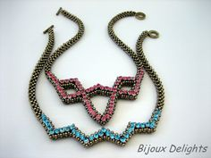 TUTORIAL Simply Elegant Necklace by BijouxDelights on Etsy