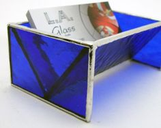 Clear stained glass business card holder home office professional clear stained glass business card holder home office professional la glass pinterest business card holders business cards and glass colourmoves
