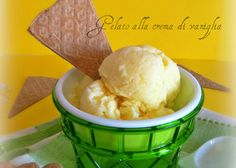 Gelato alla crema di vaniglia fatto in casa